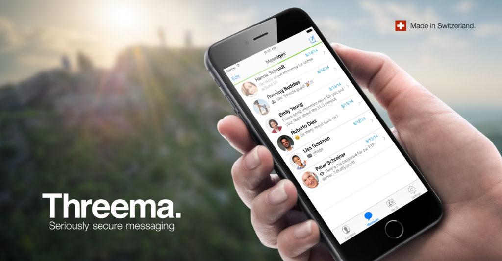 Threema Secure Messaging